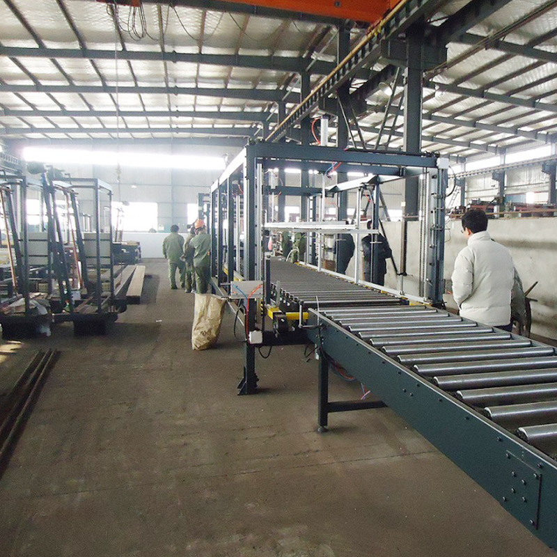 Automatic EPS block continue cutting line