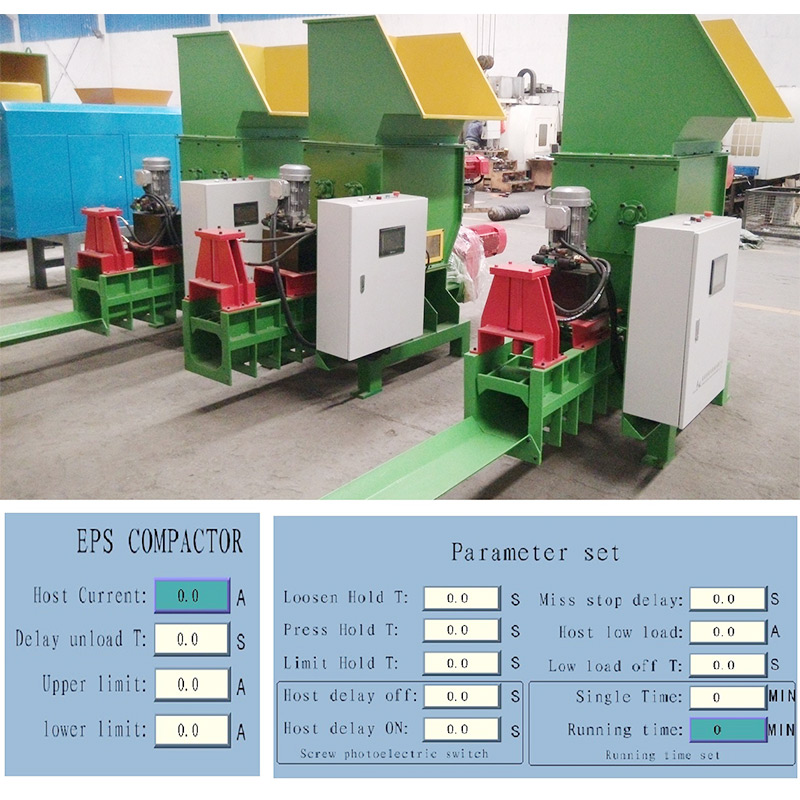 NKL EPS foam cold compactor